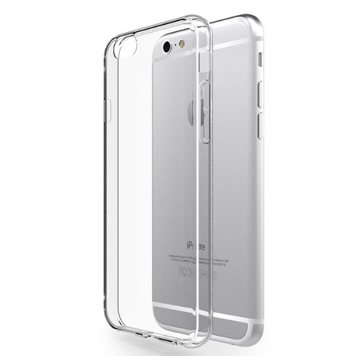 Funda en silicona transparente para iPhone 6+/6S+/ 7+/ 8+