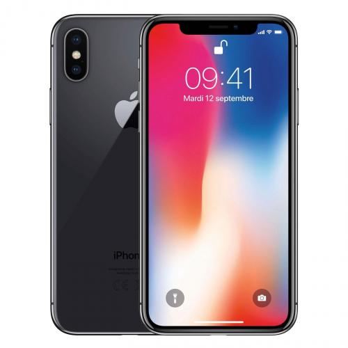 iPhone X 64 gris