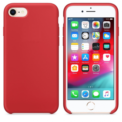 Coque Premium iPhone 7/8 rouge