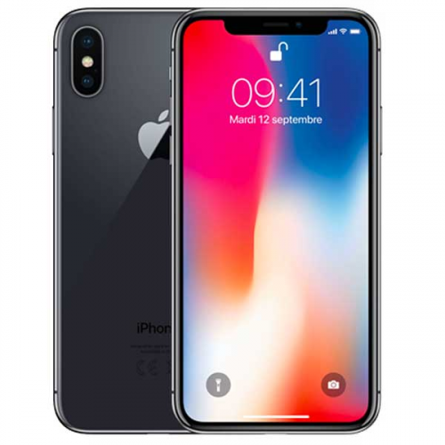 iPhone X 64 Go Gris sidéral