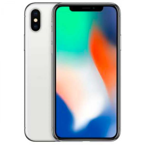 iPhone X 256 Gb Plata